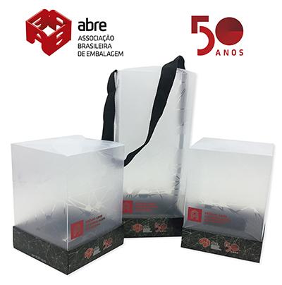 Caixas do Premio ABRE tem desenvolvimento e producao da Antilhas Embalagens