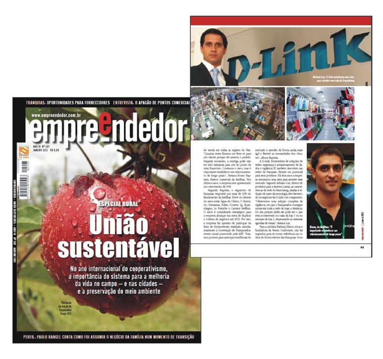 Bruno Baptista na Revista Empreendedor